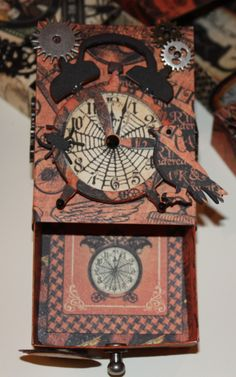 Halloween Match Boxes by SAZCreations - Cards and Paper Crafts at Splitcoaststampers