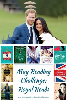 The Royal wedding is almost here and we have an amazing list of books to read in honor of this momentous occasion. Prince Harry and Meghan Markle's big day will be here May 19th!!!! Find your next great royal read before the main event! Pin now and read later
