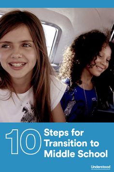 Steps for creating a smooth transition to middle school