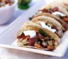 Grilled salmon tacos http://www.tashinthekitchen.com/find-us.html