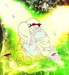 Naruto e Sakura together in forest /NaruSaku Season 1
