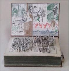 Cidade do saber - 2015 - Escultura em livros