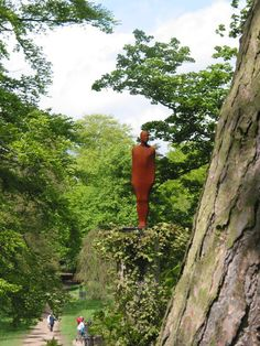 antony gormley , Yorkshire sculpture park