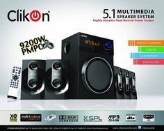 Speaker System, Entertainment Products, Multimedia, Remote, Appliances, Usb, Entertaining, Digital, Gadgets