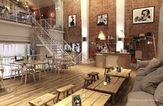 Cafetería para merendar en Ámsterdam