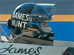 James Hunt by Tim Layzell