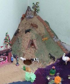 Decoration Ideas for Krishna Janmashtami - Janmashtami Decoration Ganpati Decoration Design, Mandir Decoration, Thali Decoration Ideas, Ganapati Decoration, Diwali Decorations, Festival Decorations, Handmade Decorations, Diwali Painting, Krishna Birthday