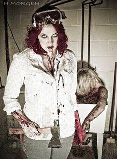 The female Dexter....copyright H.Morgan
