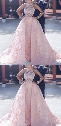 Pink wedding dress inspo • Maude and Hermione on Pinterest