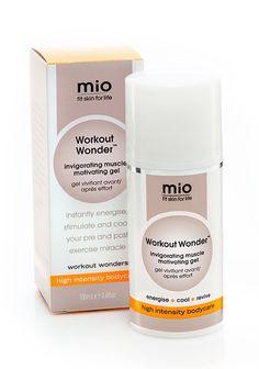 Workout Wonder osnažujući gel za mišiće. Hladna pomoć! Vaše malo čudo prije i poslije vježbanja!