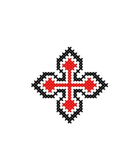 RL017 Palestine, Pony, Cross Stitch, Easter, Traditional, Embroidery, Beads, Crochet, Recipes