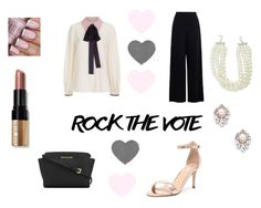 """Rock It Babe"" by hellochloe19 on Polyvore featuring Zimmermann, Roksanda, Verali, MICHAEL Michael Kors, Kenneth Jay Lane, Sole Society, Bobbi Brown Cosmetics, rockthevote and Femnist"