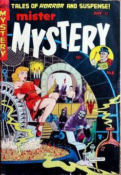 Comic Book Cover For Mister Mystery v1 #6