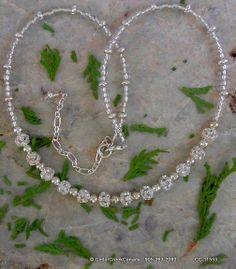 Rhinestone Necklace                           CC-11553