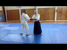 Weapons Course with Peter Brady Shihan, United Kingdon Aikikai. Some examples of Tachi-dori and Tanto-dori Aikido Techniques, Kendo, House Projects, Dory, Weapons, The Unit, Training, Japan, Youtube