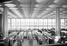 Berlin State Library ,1964-78, Hans Scharoun. Photo by Josep Maria Torra