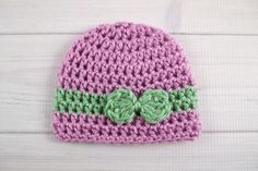 This teeny tiny crochet baby hat is the perfect size for your premature little one. Made a bit smaller than a typical newborn hat, the Wrapped With Love Preemie Crochet Hat is available for sizes one through five pounds to fit any preemie head. This crochet baby hat is worked up using simple crochet stitches, so as long as you can work the single crochet and half double crochet stitches, you'll be just fine. Choose your favorite colors for this sweet gift - any color will look stunnin...