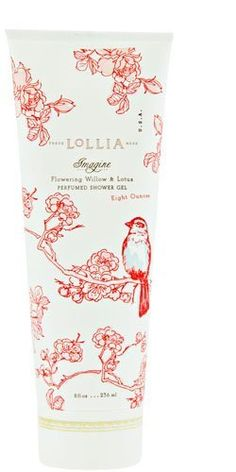 Lollia Imagine No. 71 Flowering Willow & Lotus Perfumed Shower Gel by Lollia. $22.00. Soft, soapy suds.. Honey-rich emollients of Bee Balm with Mango Butter & Avocado Oil deliver skin essential nutrients to smooth & moisturize, leaving skin refreshed & hydrated.. Fresh Botanical extracts condition & cleanse.. Soft, soapy suds. Fresh Botanical extracts condition & cleanse. Honey-rich emollients of Bee Balm with Oils of Mango & Avocado deliver skin essential nutrients to ...