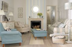 Bring a touch of the seaside to your home... New Laura Ashley Coastal range.