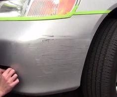 How to Repair Plastic Bumper Scratches