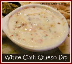 White Chili Queso Dip