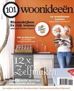 Cover Dutch creative interior magazine 101Woonideeen 01-2013