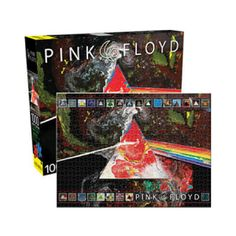 Piece together the legend of Pink Floyd Dark Side of the Moon 40th 1000pc Puzzle.