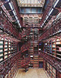 Mirando al mundo con sentimientos: Magníficas bibliotecas del mundo