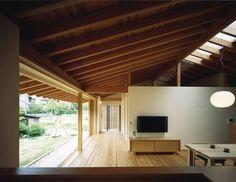 伝統的な日本家屋の魅力を引き出した家になっています。