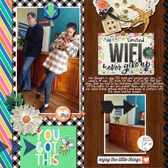 Ideas for Scrapbook Page Storytelling with the Arrow Motif | Stefanie Semple | Get It Scrapped