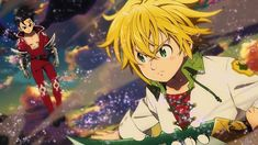 The Seven Deadly Sins: Wrath Of The Gods Netflix Release Date Announced - Anime News And Facts Seven Deadly Sins Anime, 7 Deadly Sins, Studio Deen, Netflix Releases, Netflix Anime, The Seven, Release Date, Cover Art, Really Cool Stuff