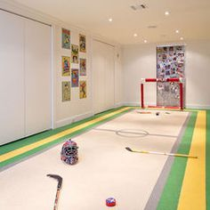 Awesome idea for the little hockey players!