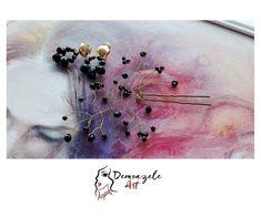 Demoazele Art Set bijuterii negre (3)