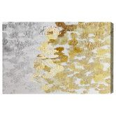 Found it at Wayfair - Oliver Gal 'Gold vs Platinum' Painting Print on Canvas