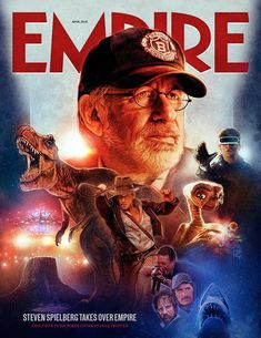 Steven Spielberg special edition of Empire Magazine for April 2018.  Out Feb 22nd