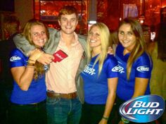 What a fun night at The Silver Dollar #Athens for #BudLight Night! #Beer #BeerLovesYou