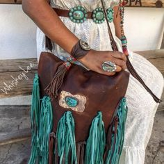 Cheap High Fashion Women S Clothing Hippie Boho, Bohemian Style, Boho Chic, Cowgirl Style, Cowgirl Fashion, Fashion Edgy, High Fashion, Turquoise Accessories, Country Style Outfits