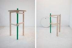 Tomas Alonso's collapsible A Side table