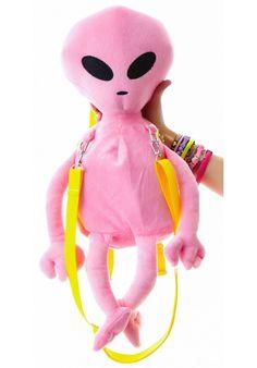 Dolls Kill Lost E.T. Alien Backpack