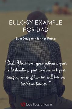 eulogy template for father.html