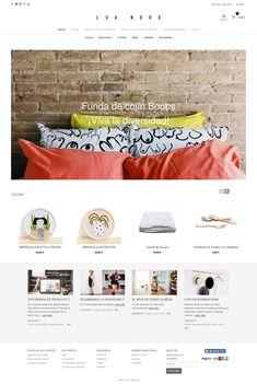 Diseño web, web design, tienda online decoración