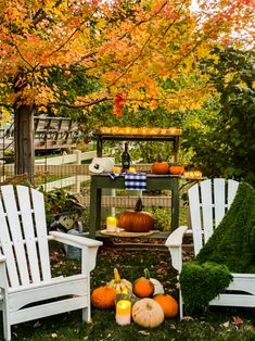 A Fall Evening In The Garden » The Tattered Pew