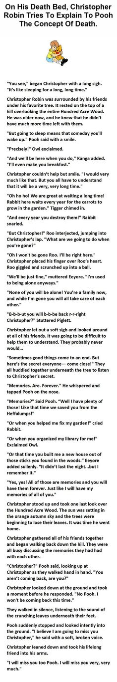 This Guy Just Changed The Way We See Winnie The Pooh. And Now I'm Crying.