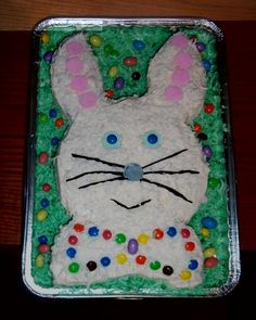 Best Easter desserts: Bunny cake instructions with pictures and a video - Raleigh Food | Examiner.com