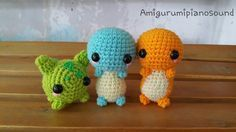 Charmander - Hitokage Pokemon Free Amigurumi Crochet Pattern My junior contacted me, and asked if I could make some pokemon doll for ...