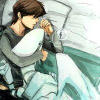 Blue Eyes White Dragon and Seto Kaiba