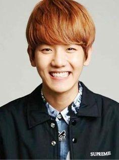 Baekhyun :) shield your eyes! This smile is blinding!