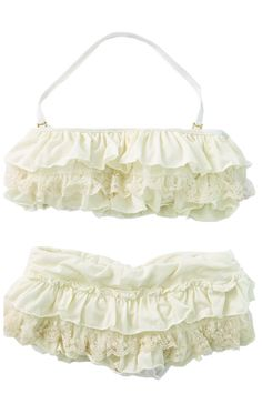 Ruffle & Lace - LOVE...its like the bikini my mom put me in when i was two :) now it