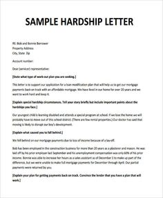 Credit memo credit letter template business forms pinterest hardship letter sample 35 simple hardship letters financial for mortgage for immigration spiritdancerdesigns Gallery