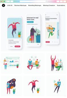 Mockup Creator, Design Bundles, Cool Designs, Presentation, Branding, Graphic Design, Cartoon, Illustration, Projects